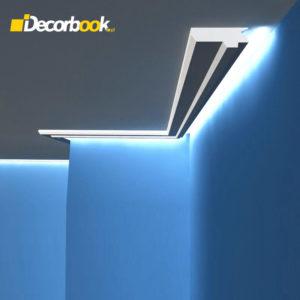 Listwa oświetleniowa sufitowa LO17 4,5cm Decor System