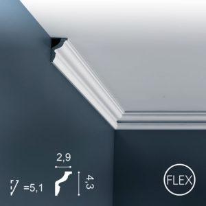 Listwa Sufitowa CX148 Flex 4,3cm Orac Decor