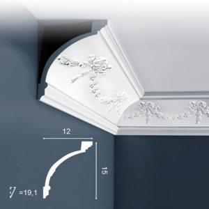 Listwa Sufitowa C218 15cm Orac Decor
