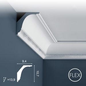Listwa Sufitowa C402 Flex 10,7cm Orac Decor