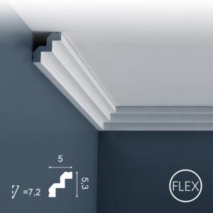 Listwa Sufitowa C602 Flex 5,3cm Orac Decor