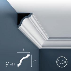 Listwa Sufitowa CX123 Flex 8cm Orac Decor