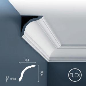 Listwa Sufitowa CX127 Flex 9,5cm Orac Decor