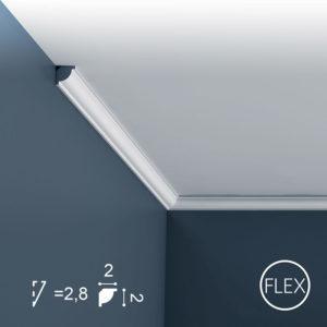 Listwa Sufitowa CX132 Flex 2cm Orac Decor