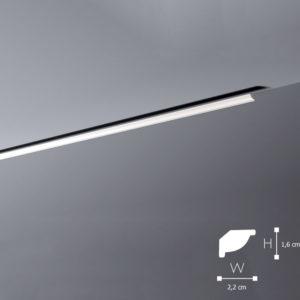 Listwa Sufitowa WT7 1,6cm NMC