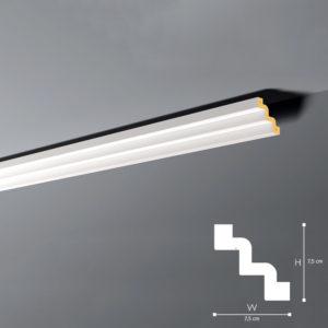 Listwa Sufitowa Z52 7,5cm NMC
